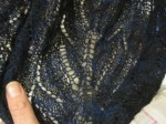 Work-in-Progress: Cleite Lace Shawl
