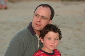Patrick & Michael at the beach