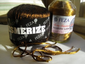 two yarns to combine to make bronze