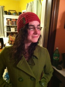 Nora in Brattleboro Hat
