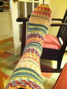 Finished_striped_sock