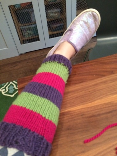 knit-striped-leg-warmer