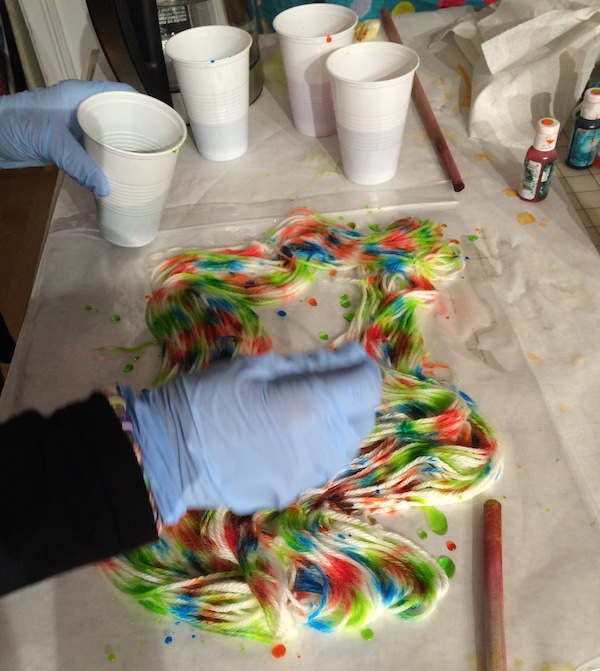 dyeing-speckled