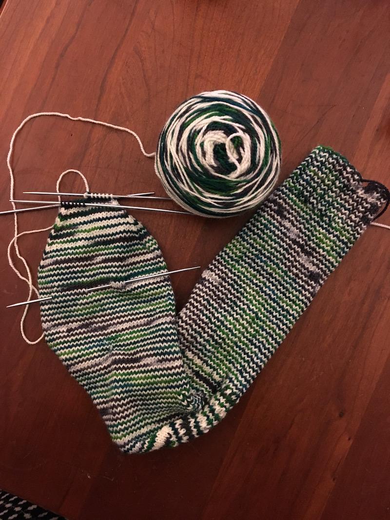 Sock-toe-shaping