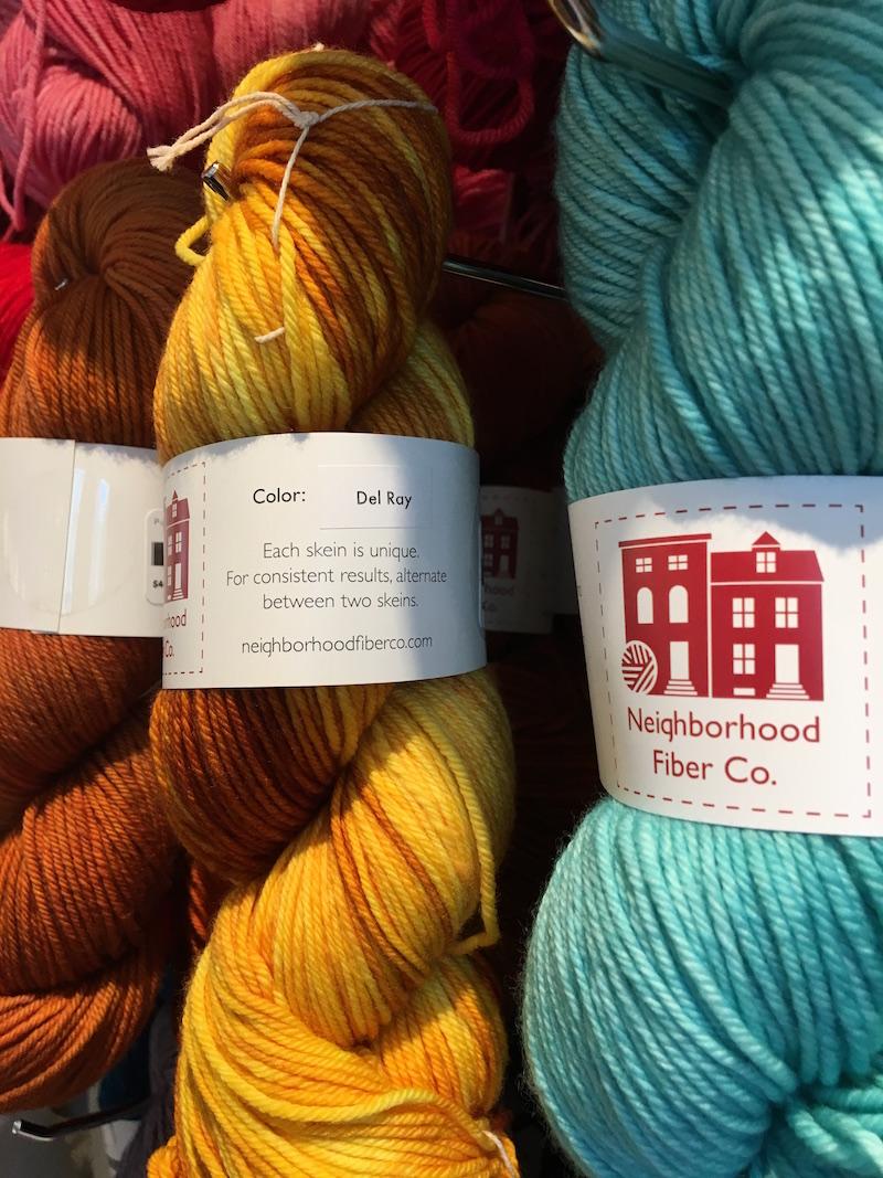 Neighborhood-fiber-yarn