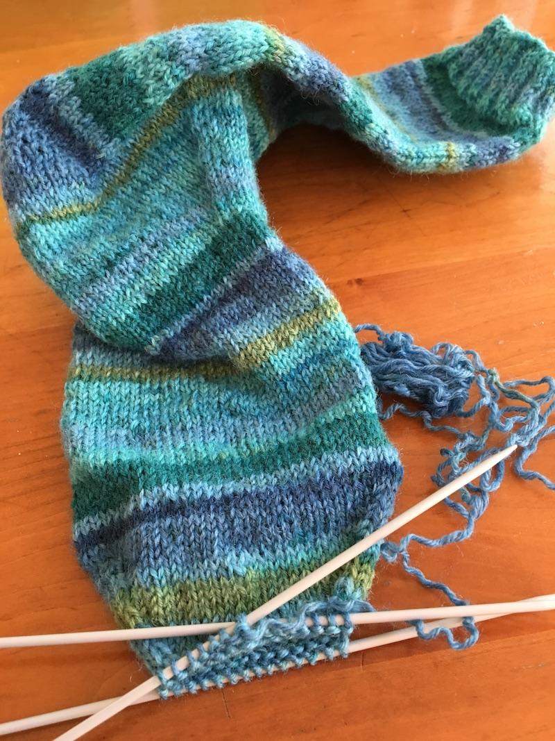 sock-toe-shape