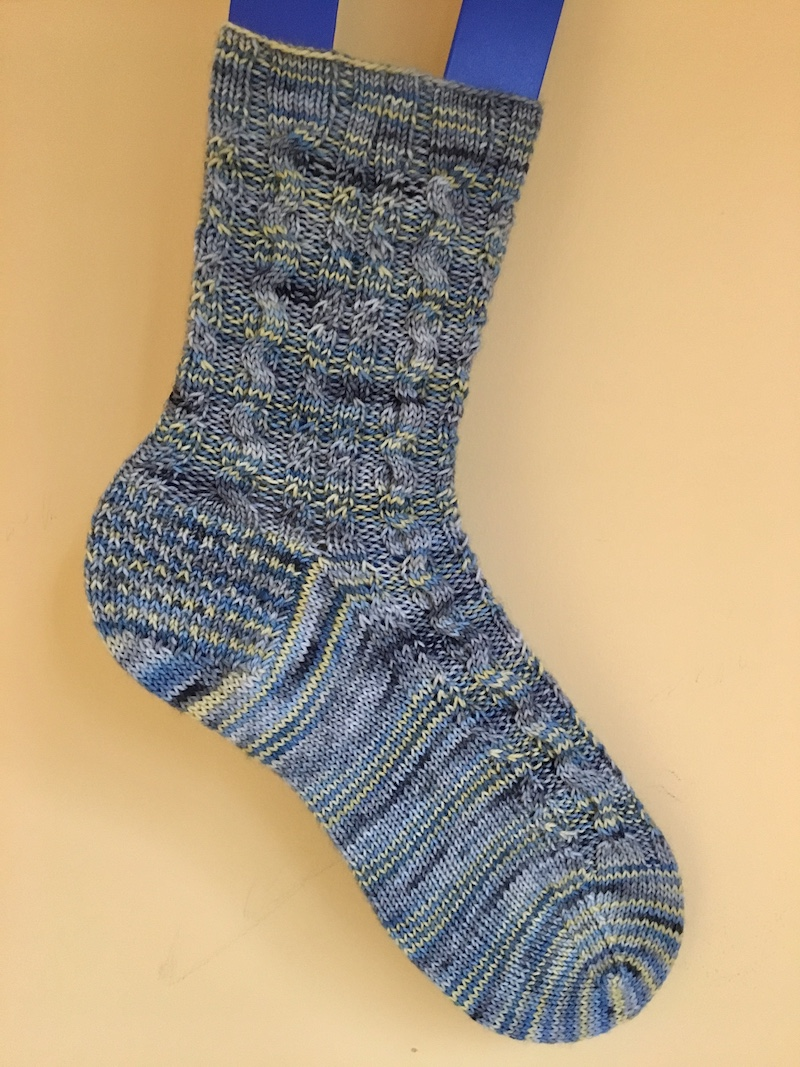 House Greyjoy knit sock